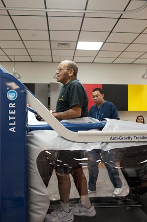 Workmen's Circle Therapy Treadmill